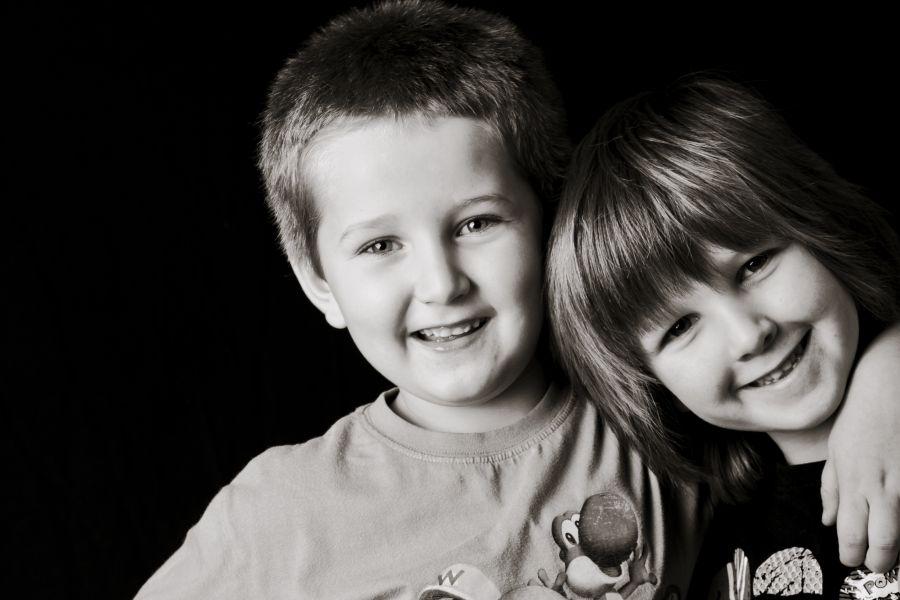 contemporary kids portraits